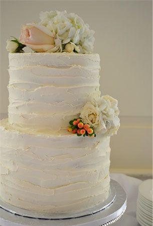 Eloise's 2-tier wedding cake