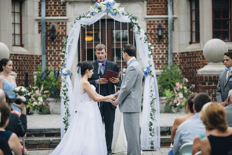 moorestown community house wedding ceremony photog