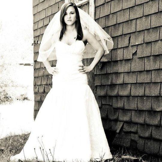 "Casey Roberts Vigrass Modern Trousseau ""Sarah"" gown"