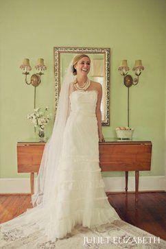 """Erin Foster Dudley Modern Trousseau """"Poppy"""" gown"""