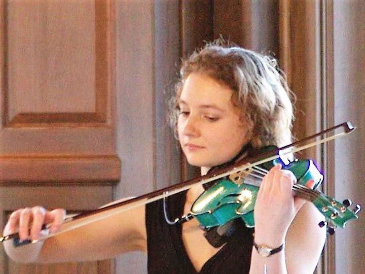 Tmx Alyssa At Bellevue With Green Violin 51 1313565 1567634832 Newtown, PA wedding ceremonymusic