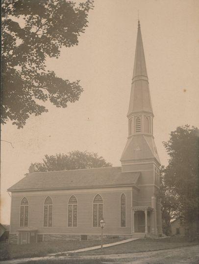 Church photo from circa 1900