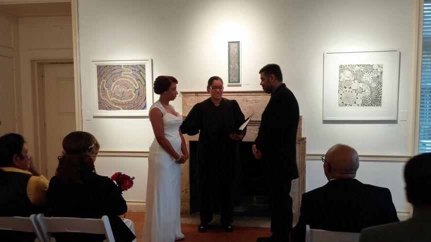 Abington Art Center Wedding