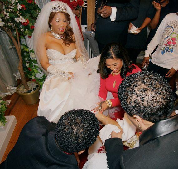 Wedding Element: Foot Washing