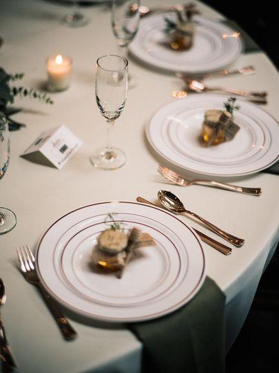 Table setup | Nick Sparks Photography