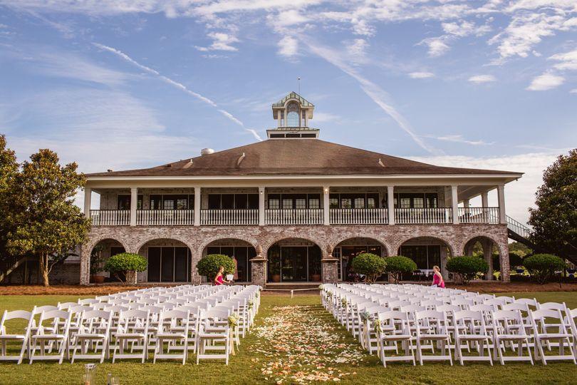 Outlook of wedding venue