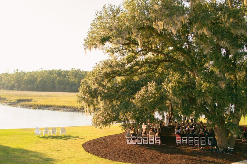 Outlook of wedding ceremony