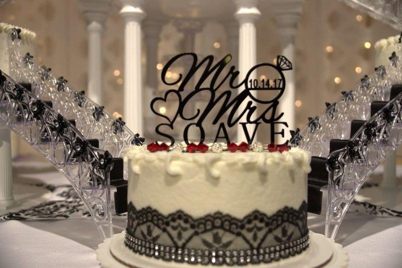 Soave Wedding Cake