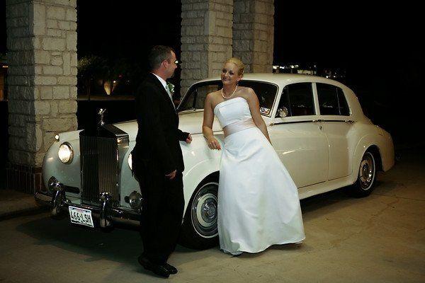 OCT 2008 couple w 58 Roll Royce