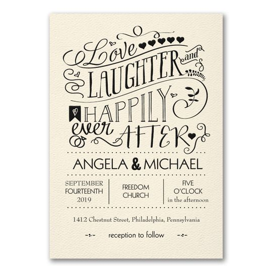 Laughter Happily Invite