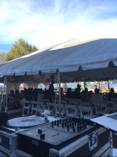 Ceremony and wedding reception