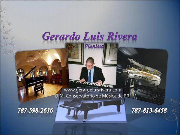 Gerardo Luis Rivera, Pianist and accordionist