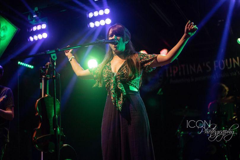 Performing at Tipitina's