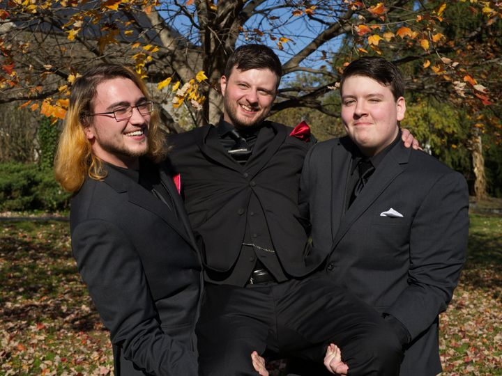 Tmx Best Men Holding Up Groom 51 1892665 161056568579663 Chalfont, PA wedding videography
