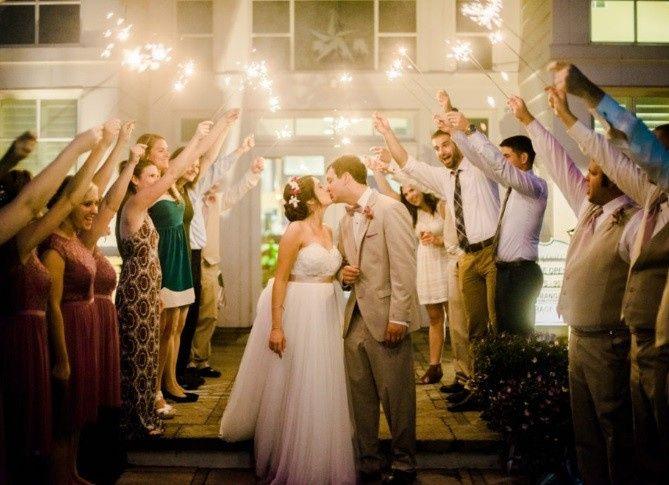 Tmx 1491336740375 Sparkler Exit Sunbury, OH wedding venue