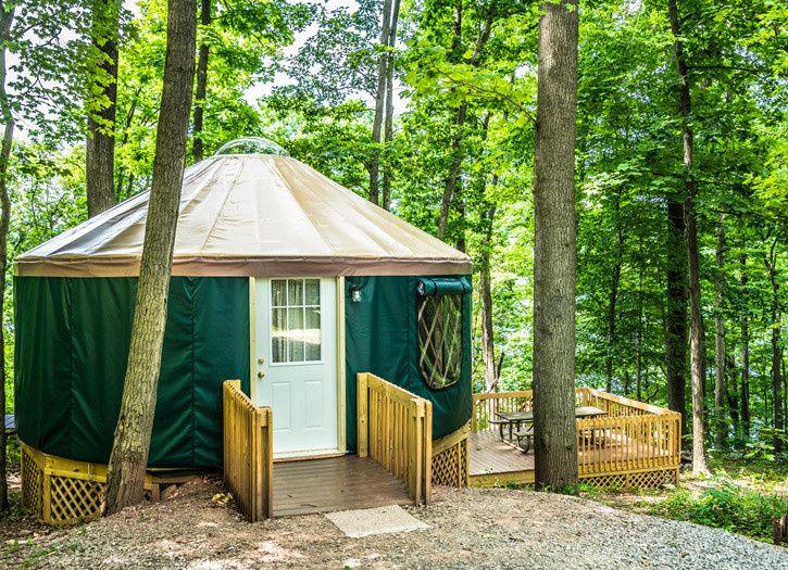 yurt rentals raystown lake