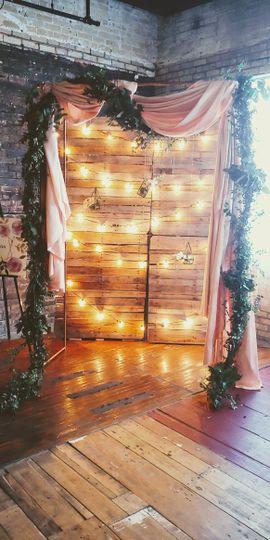 Bridal Show Arch