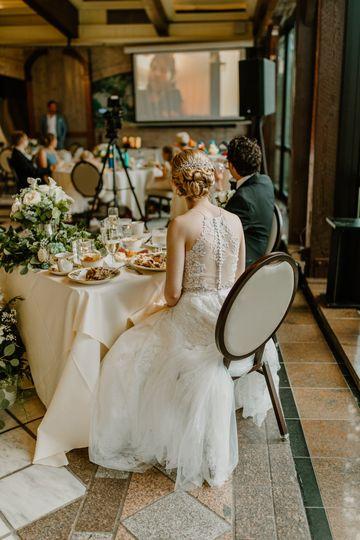 Virtual wedding speeches