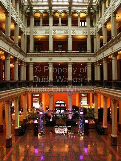 Minneapolis Wedding DJ Dude Walker - Landmark Center| dudewalker.org