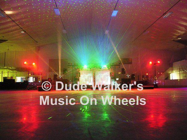 Minneapolis Wedding DJ Dude Walker - Arena Video System| dudewalker.org