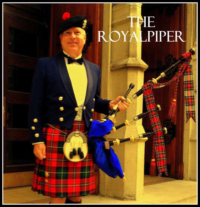 Bagpipes by The RoyalPiper
