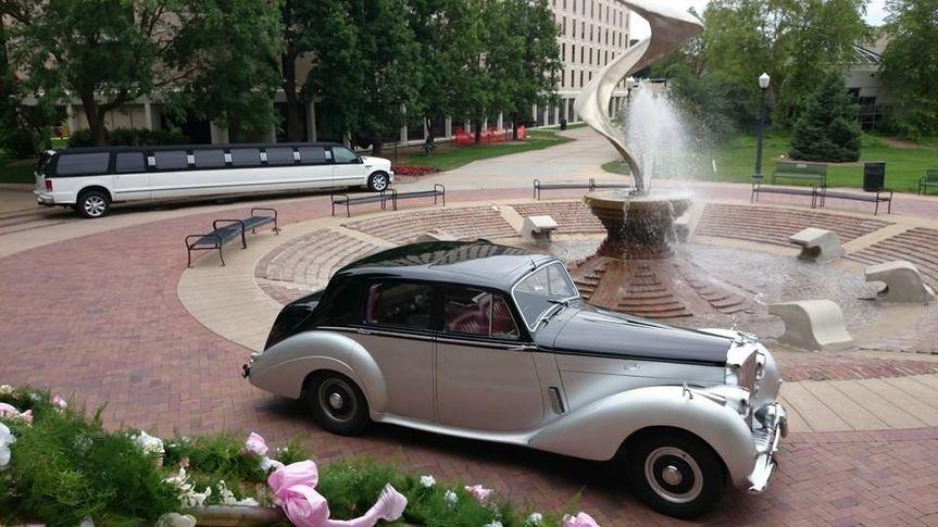 Rolls Royce outside the venue
