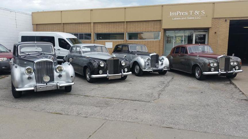 Range of cars