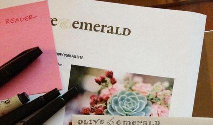 Olive & Emerald
