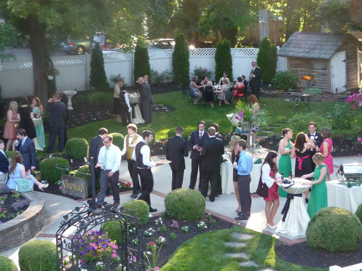 Outdoor Cocktail Reception