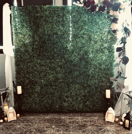 Greenery Photo Wall