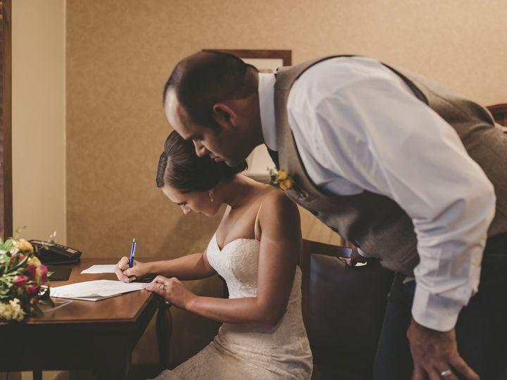 Tmx Lodge Signing Wedding License 51 1087665 159421654680469 Luther, MI wedding venue