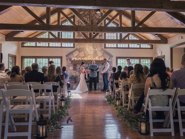 Tmx Lodge Wedding Ceremony 51 1087665 159421657399968 Luther, MI wedding venue