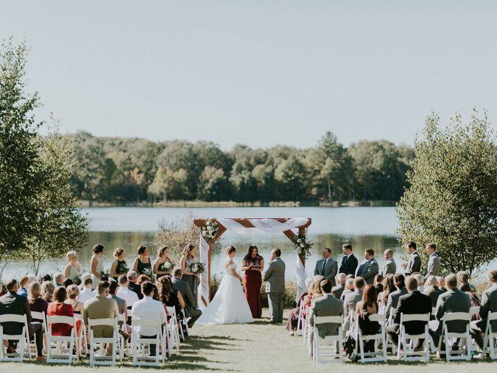 Tmx Wedding Lake In Background 51 1087665 159421732783710 Luther, MI wedding venue