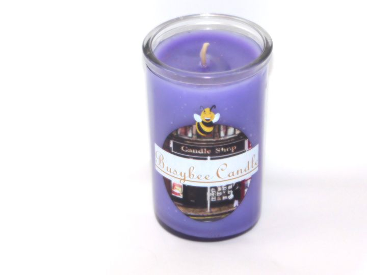short jar candle