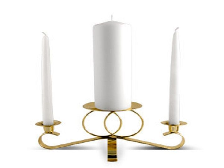 Tmx Gold Unity Candle Holder 51 599665 V1 Hawthorne, CA wedding favor