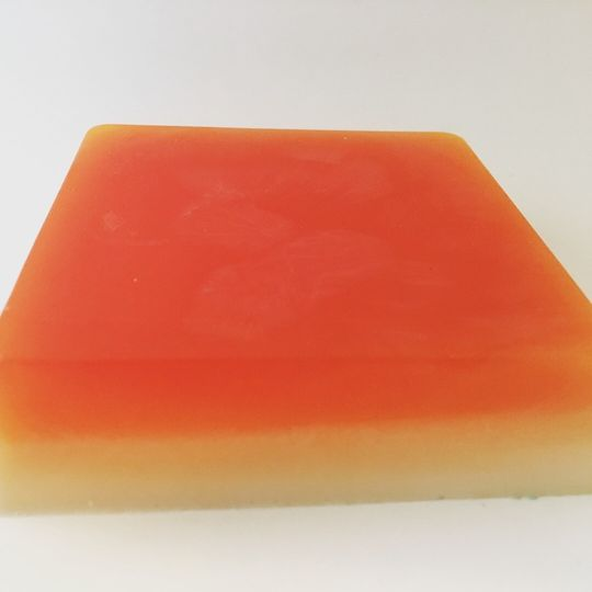 Orange Ombre Soap