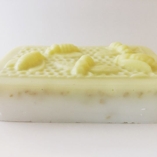 Honey Almond Oatmeal Bee Soap