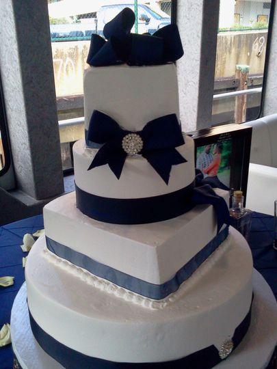 weddingcakeblue