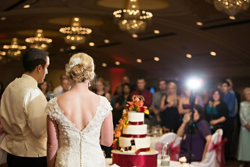 Speech of the newlyweds