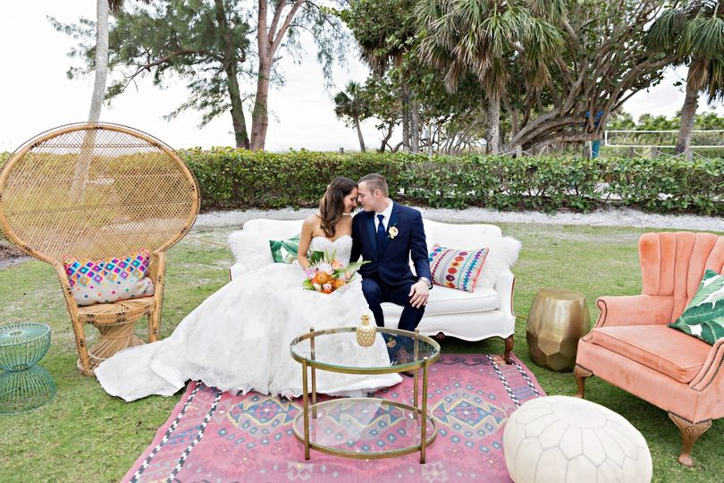 Boho Wedding Lounge
