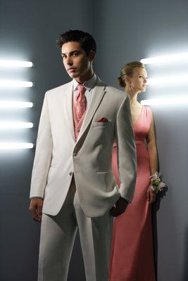 After Six Lastrada White, two button, notch lapel