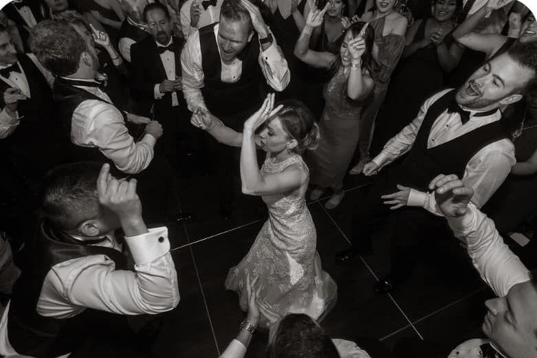 Bride on the Floor!