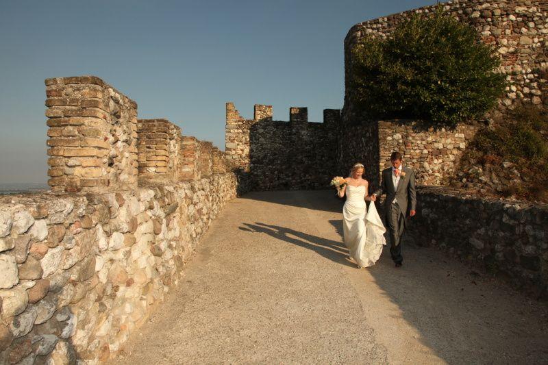 Private castle wedding