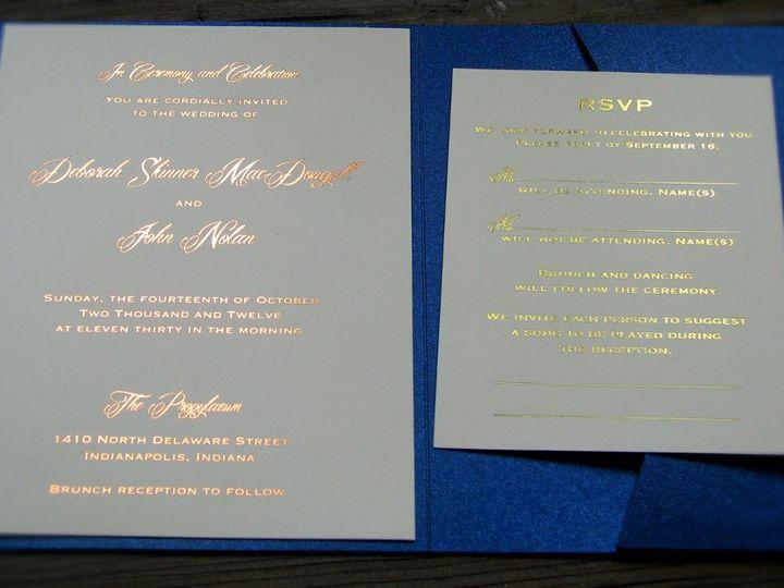 Tmx 1358184567360 Image6 Indianapolis wedding invitation