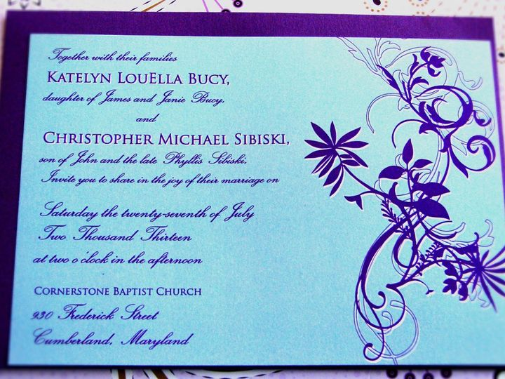 Tmx 1358184847100 Photo1 Indianapolis wedding invitation