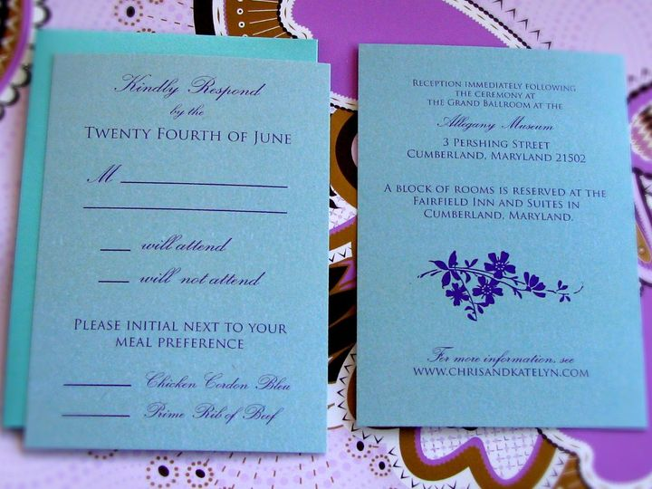 Tmx 1358184862202 Photo2 Indianapolis wedding invitation