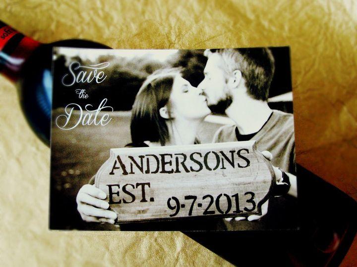 Tmx 1363356815227 Photo1 Indianapolis wedding invitation