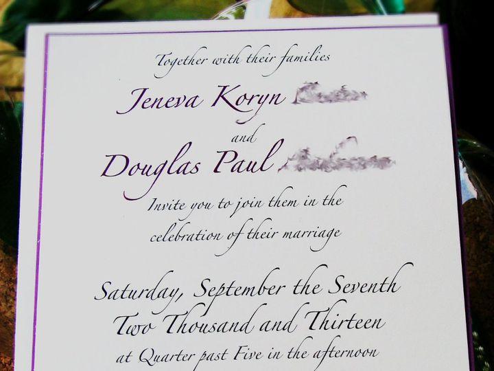 Tmx 1363356824865 Jenevadouginvite Indianapolis wedding invitation