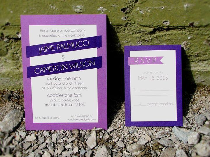 Tmx 1363357091612 Imagecopy Indianapolis wedding invitation