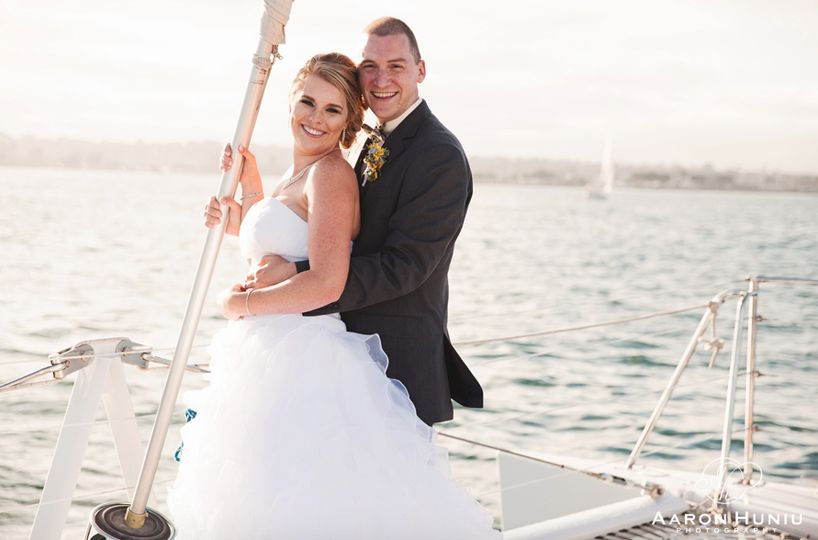 Aolani Catamaran Wedding